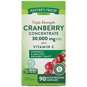 Nature's Truth Ultra Triple Strength Cranberry Concentrate