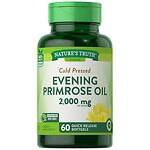Nature's Truth Cold Pressed Evening Primrose Oil 1000mg- 60 ea