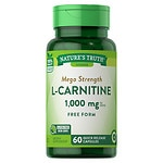 Nature's Truth L-Carnitine 500mg Plus CoQ-10- 60 ea