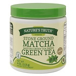 Nature's Truth Stone Ground Matcha Green Tea- 4 oz