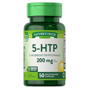 Nature's Truth 5-HTP 5-Hydroxytryptophan 100mg, Capsules