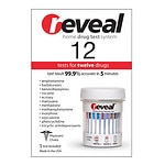 reveal Home 12 Drug Test, Twelve Drugs- 1 ea