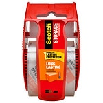 Scotch Long Lasting Moving & Storage Packaging Tape, Clear/White, 1.88 inch x 800 inch- 1 ea