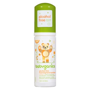 Babyganics Alcohol-Free Foaming Hand Sanitizer, Mandarin