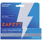 ZAPZYT Maximum Strength 10% Benzoyl Peroxide Acne Treatment Gel- 1 oz