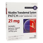 Habitrol Nicotine Transdermal System Stop Smoking Aid Patch, 21 mg, Step 1- 14 ea