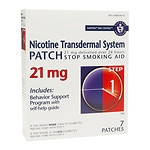 Habitrol Nicotine Transdermal System Stop Smoking Aid Patch, 21 mg, Step 1- 7 ea