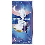Always Infinity with Flex Foam Extra Heavy Overnight Pads with Flexi-Wings- 24 ea