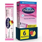 Pedialyte Powder Pack, Strawberry Lemonade, 6 pk- .6 oz