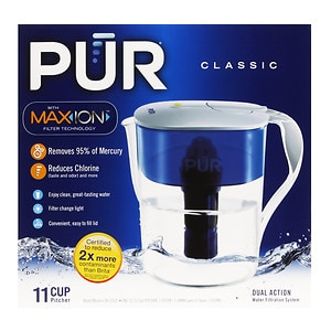 PUR Water Filter Pitcher Classic, 11 Cup