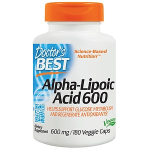 Doctor's Best Best Alpha-Lipoic Acid 600mg