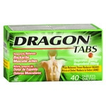Pomada Dragon Ibuprofen Tablets 200mg- 40 ea