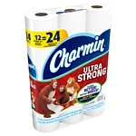 Charmin Ultra Strong Toilet Paper Double Rolls- 12 ea