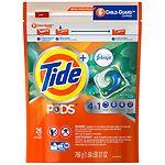 Tide PODS Plus Febreze Laundry Detergent Pacs, Botanical Rain- 26 ea