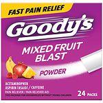 Goody's Headache Powders, Mixed Fruit Blast- 24 ea