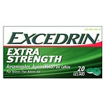 Excedrin Extra Strength Pain Reliever Geltabs- 20 ea