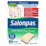 Salonpas Pain Relief Patches- 60 ea