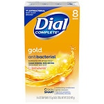 Dial Value Pack! Antibacterial Deodorant Bar Soap, Gold, 4.0 oz Bars