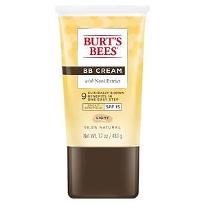 Burt's Bees BB Cream with Noni Extract SPF 15, Light