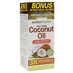 Purely Inspired 100% Pure Coconut Oil, Softgels- 80 ea