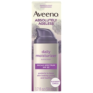Aveeno Active Naturals Absolutely Ageless Daily Moisturizer, Blackberry