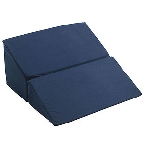 Drive Medical Folding Bed Wedge, Blue, 10in