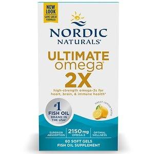 Nordic Naturals Ultimate Omega 2X, Lemon
