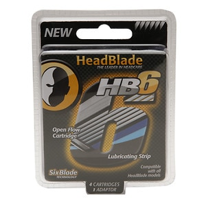 HeadBlade Six Blade Replacement Kit