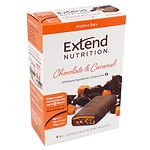 Extend Nutrition Bars, Chocolate & Caramel, 4 pk- 1.48 oz