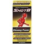 Shot B Ginseng 400 Capsules- 50 oz