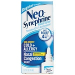 Neo-Synephrine Cold & Sinus Regular Strength Nasal Decongestant Spray- .5 oz