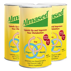 Almased All Natural Diet Shake, 3 pk