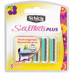 Schick Silk Effects Plus Refill Blades