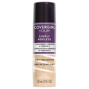 CoverGirl & Olay Simply Ageless 3-in-1 Liquid Foundation, Buff