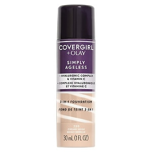 CoverGirl & Olay Simply Ageless 3-in-1 Liquid Foundation, Creamy