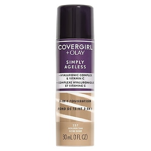 CoverGirl & Olay Simply Ageless 3-in-1 Liquid Foundation, Golden
