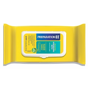 Preparation H Medicated Wipes Refill Pack- 48 ea