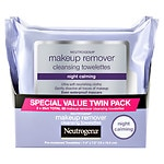 Neutrogena Night Calming Makeup Remover Cleansing Towelettes, 2 pk- 25 ea