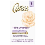 Caress Beauty Bar, Pure Embrace, 6 bar- 4 oz