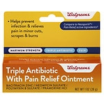 Walgreens Triple Antibiotic Ointment- 1 oz