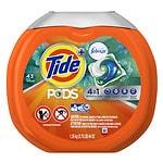 Tide PODS Plus Febreze Laundry Detergent Pacs, Botanical Rain- 43 ea