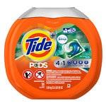 Tide PODS Plus Febreze Laundry Detergent Pacs, Botanical Rain- 54 ea