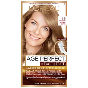 L'Oreal Paris Excellence Age Perfect Permanent Layered-Tone Flattering Color, Light Soft Neutral Brown