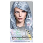 L'Oreal Paris Feria Smokey Pastels Permanent Haircolor, Smokey Blue- 1 ea