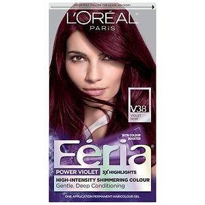 L'Oreal Paris Feria Power Violet Permanent Haircolor