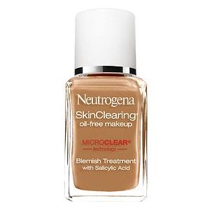 Neutrogena SkinClearing Oil-Free Liquid Makeup, Caramel