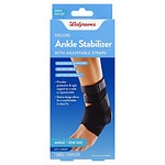 Walgreens Deluxe Ankle Stabilizer, One Size- 1 ea