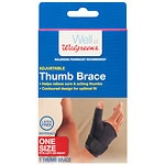 Walgreens Thumb Brace, One Size- 1 ea