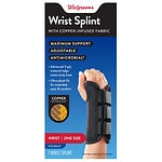 Walgreens Copper Wrist Splint Right- 1 ea