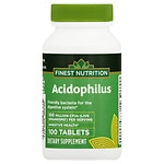 Finest Natural Acidophilus- 100 ea